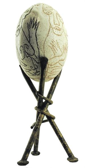 Ostrich Egg, c.2009