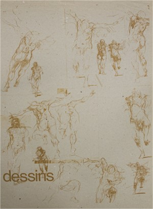 Dessins (Horse) (trial Lith proof)