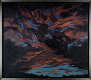 Turbulent Sky by Howard Schroedter