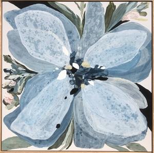 Bloom in Blue by Vesela Baker
