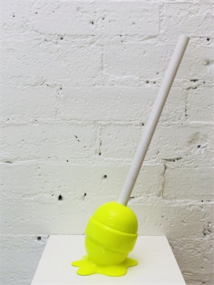 The Sweet Life, small, yellow Lollipop, 2019