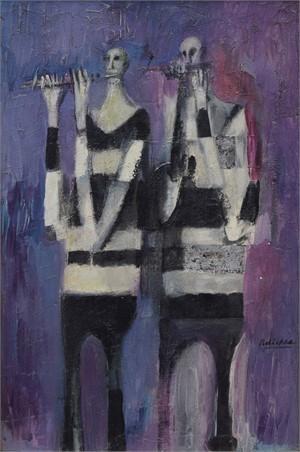 Antibes Musicians, 1959