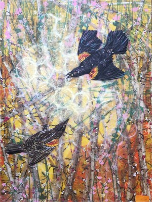 Red Winged Blackbirds, 2019