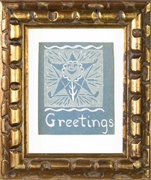 "Greetings, ""Starflower"", c.1950"