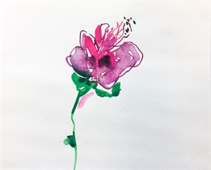 Floral Watercolor No. 1