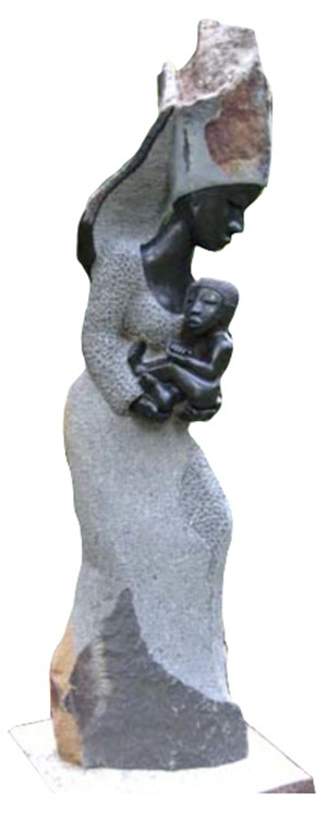 Angel Protecting A Holy Child, 2003