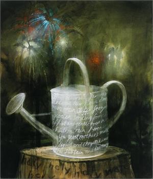 La Fiesta de Agua Santa  by Kevin Sloan