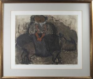 Girl on a Rhinocerous, 1968