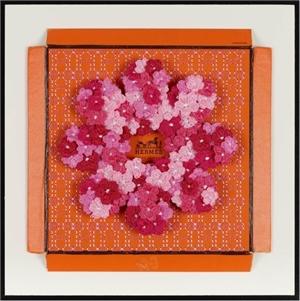 Hermes Flower, Fuchsia, 2019