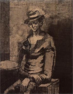 Untitled (Figure), 1948