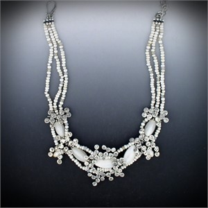Necklace - Snowflakes #30997