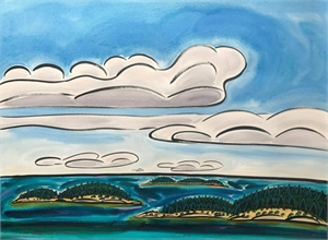 Five Clouds, Three Islands, 5/4/19