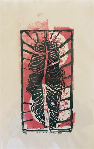 Banana Leaf Monoprint 7/20 (SPECIAL PRICING), 2020