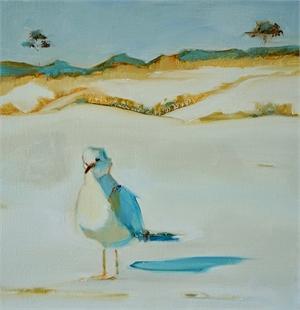 Mocking Gull by Kathleen Broaderick