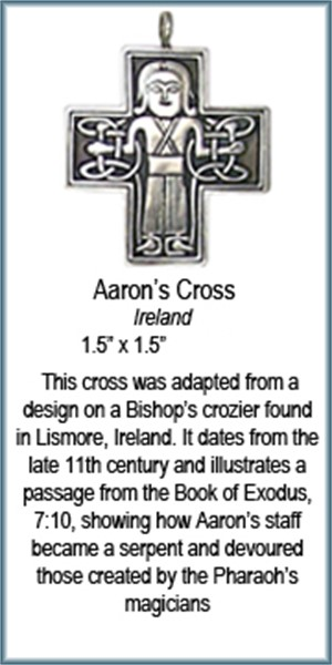 Pendant - Bronze Aaron's Cross 8913, 2019