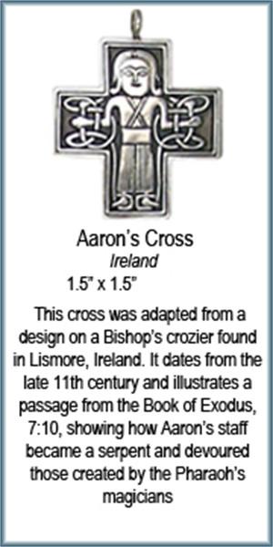Pendant - Bronze Aaron's Cross 8913, 2019