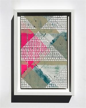 Triangle 2, Pink, Study No.79, 2018