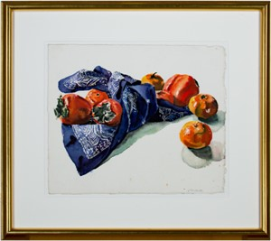 Persimmons, Tangerines & Blue Kerchief, 1969