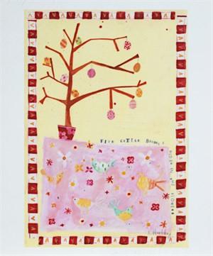 Five Little Birdies Hidden in the Flowers KMH 037, 2006