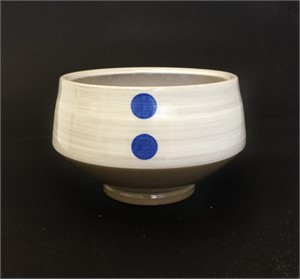 Blue Dot Bowl