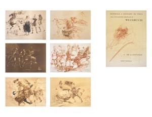 Homage A Leonard  de Vinci (Complete Portfolio Set of 7 / De La Bataille Vol.1) (85/225), 1978