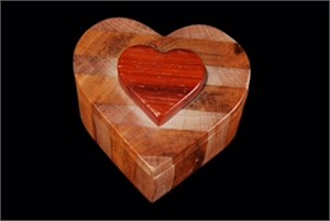 Layered Lift-Lid Heart Box