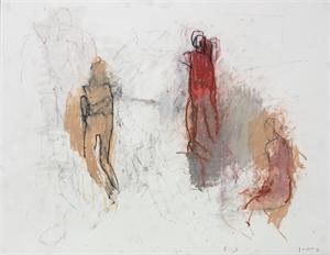 Three Figures, II by Thaddeus Radell