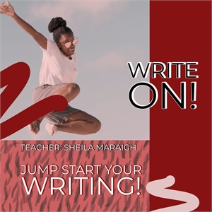 WRITE ON!   Four Week, WEDNESDAY MORNING Class, Starting Wednesday, January 15th, 2020 - 10am-12pm