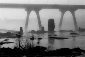 James River Fog III 2013