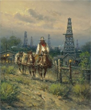 Oil Field Cowhand (/Press Proof)