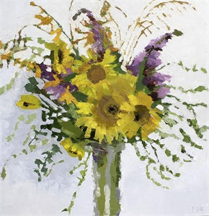 Midsummer Sunflower Arrangement