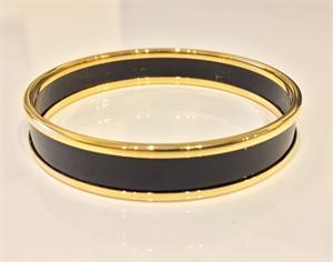 Black & Gold Bangle