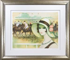 Une Parisienne a Longchamp (108/200), 1986