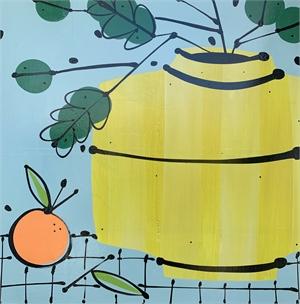 Lemon Vase and Orange, 2020