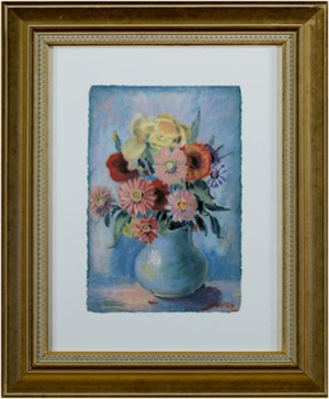 Flowers in Blue Vase, 2007