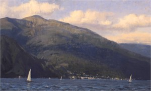 View Across Lake Como
