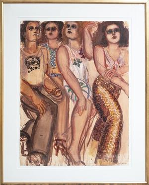 Donald Morris Gallery, 1978