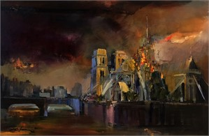 Burning of Notre Dame