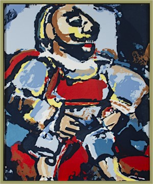 The Cavalier King by Georges Rouault (after)