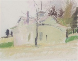 House in a Field, 1971