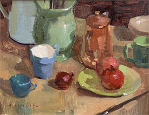 Still Life With Blue Cup, 2016