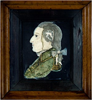 George Washington Portrait Wax (1797)-inscribed, c. 1924 by Artist