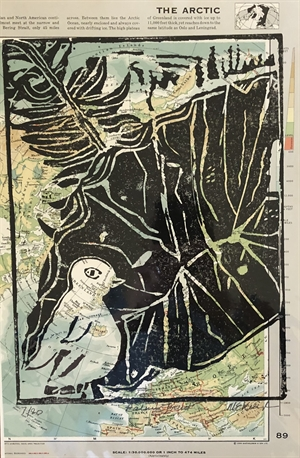 Palm Monoprint 7/20 Arctic (SPECIAL PRICING), 2020
