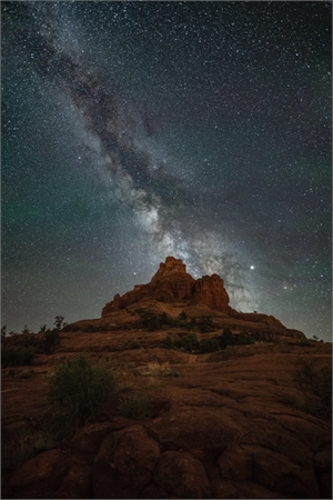 Bell Rock Milky Way-AW