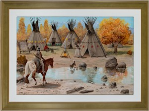 Teepee/Indian Village, 1978