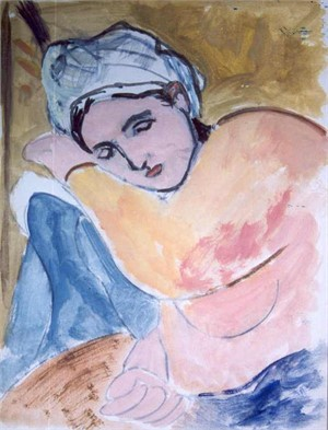Sleeping Woman, 1930