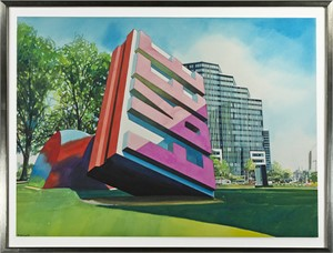 Oldenburg Sculpture, Cleveland, Ohio, 1994