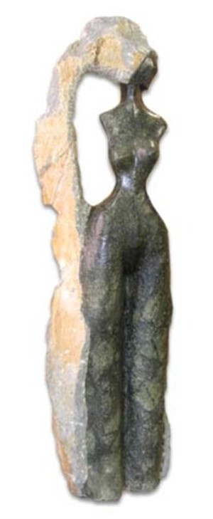 Woman With Ankle Length Hair, 2003