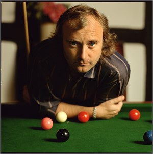 86063 Phil Collins Pool Table Color, 1986