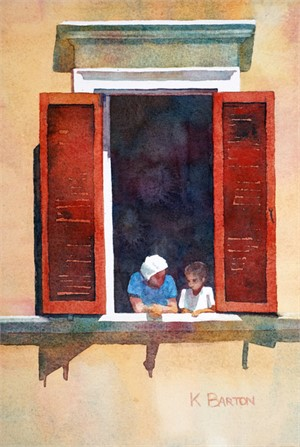 Trastevere Window II